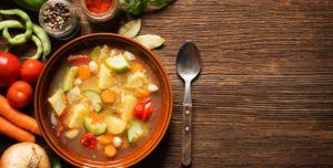 Healthy food soup